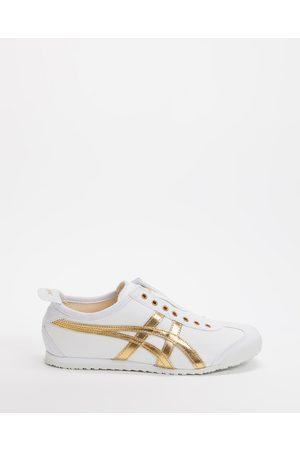 Onitsuka Tiger Flat Shoes - Mexico 66 Slip On Unisex - Sneakers ( / Pure ) Mexico 66 Slip-On - Unisex