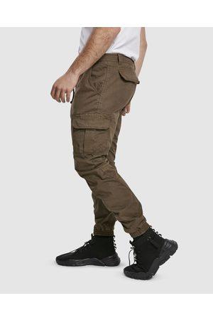 Urban classics UC Cuffed Cargo Jogging Pants - Cargo Pants UC Cuffed Cargo Jogging Pants