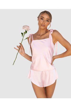 Modern Romantique Women Nightdresses & Shirts - Ma Chérie Cami Set - Two-piece sets Ma Chérie Cami Set