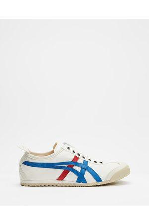 Onitsuka Tiger Flat Shoes - Mexico 66 Slip On Unisex - Slip-On Sneakers ( & Tricolor) Mexico 66 Slip-On - Unisex