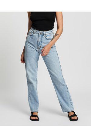 Neuw Women High Waisted - Nico Straight Jeans - High-Waisted (Zero Delia) Nico Straight Jeans