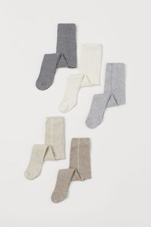 H&M Girls Stockings - 5-pack Fine Knit Tights