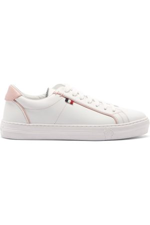 Moncler Alodie Leather Trainers - Womens