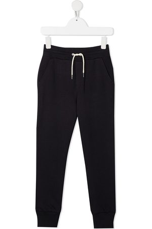 Lanvin Boys Joggers - Logo-embroidered cotton track pants