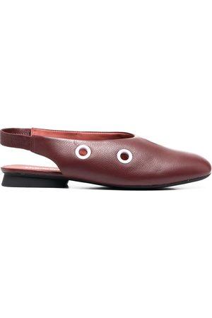 Camper Women Ballerinas - Eyelet detail slingback ballerina shoes