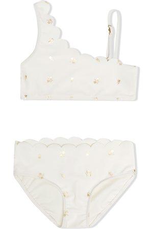Chloé Floral-print two-piece bikini