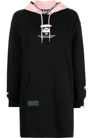 AAPE BY A BATHING APE Women Hoodies - Logo-print drawstring hoodie