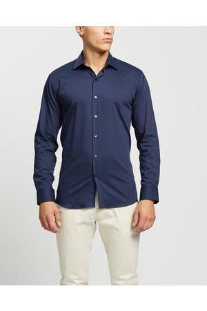 Calvin Klein Business Shirt - Shirts & Polos (Navy) Business Shirt
