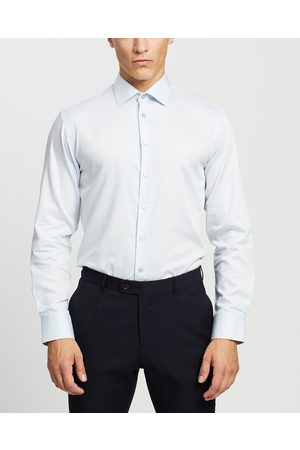 Calvin Klein Slim Fit Dobby Business Shirt - Shirts & Polos Slim Fit Dobby Business Shirt
