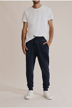 COUNTRY ROAD Australian Cotton Sweat Pant - Navy