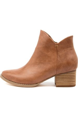 I LOVE BILLY Women Ankle Boots - Lexa Il Cognac Boots Womens Shoes Casual Ankle Boots