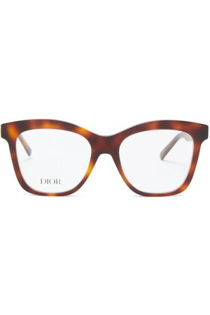 DIOR 30montaignemini Butterfly Acetate Glasses - Womens - Tortoiseshell