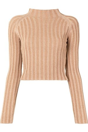 Dion Lee Twist-back ribbed top