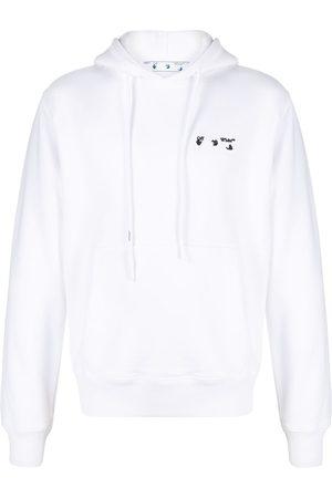 OFF-WHITE Men Hoodies - Contrasting logo hoodie