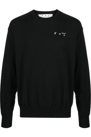 OFF-WHITE Logo-print cotton sweatshirt