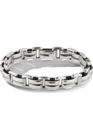 David Yurman 7.5MM BEVELED LINK BRAC