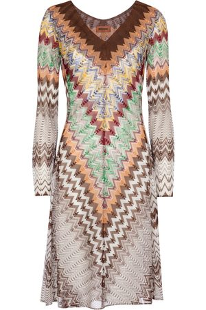 Missoni Zig-zag knit minidress