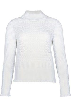 Patou Crochet knit effect sweater