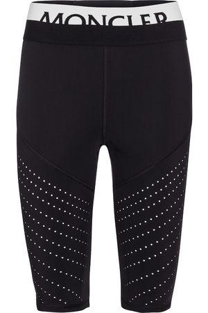 Moncler Perforated biker shorts