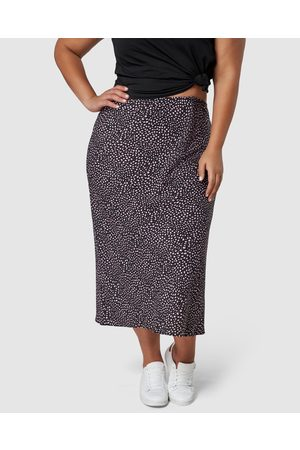 Something 4 Olivia Catalina Print Midi Skirt - Pencil skirts Catalina Print Midi Skirt
