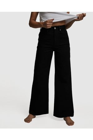 Cotton On Petite Wide Leg Jeans - Relaxed Jeans Petite Wide Leg Jeans