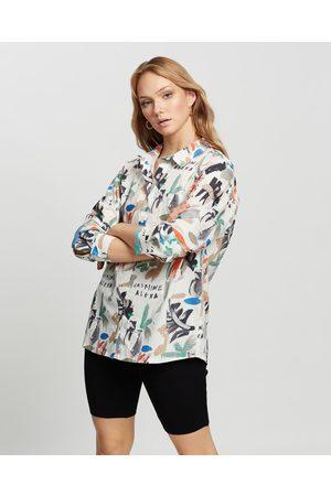 Jasmine Alexa Paint The Sky Shirt - Shirts & Polos (Multi) Paint The Sky Shirt