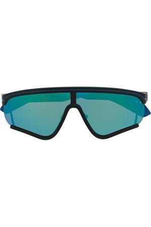 Msgm Oversize-frame tinted sunglasses