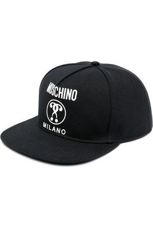 Moschino Men Caps - Logo-print six-panel cap