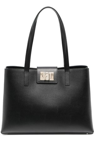 Furla 1927 leather tote bag