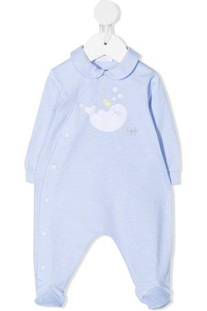 Il gufo Embroidered seal pyjamas