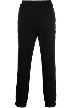 Msgm Logo-print tapered track pants