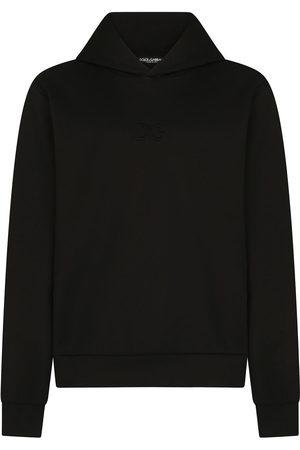 Dolce & Gabbana Logo-patch-neck hoodie