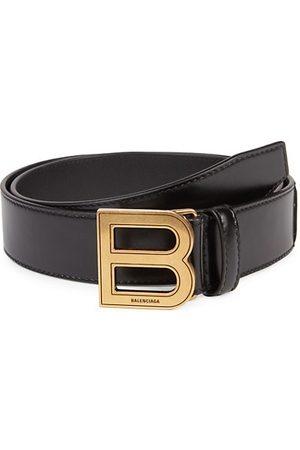 Balenciaga Men Belts - Hourglass Leather Belt
