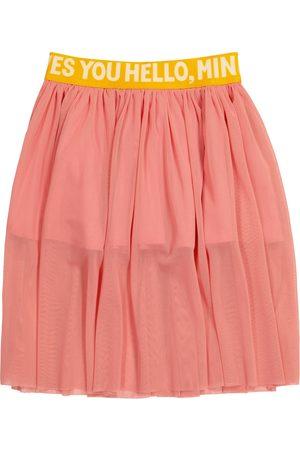 Mini Rodini Logo tulle skirt