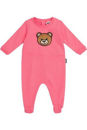 Moschino Kids Baby stretch-cotton onesie