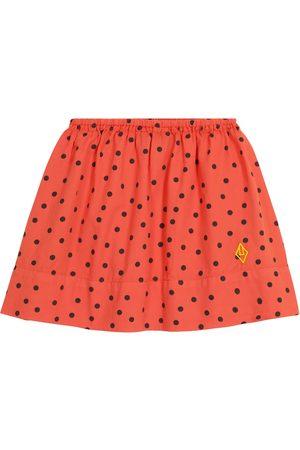 The Animals Observatory Impala polka-dot cotton skirt