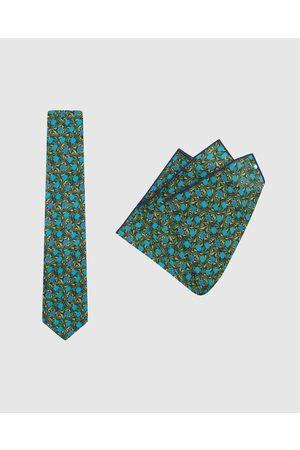 Buckle Jocelyn Proust Tie & Pocket Square Set - Ties Jocelyn Proust - Tie & Pocket Square Set