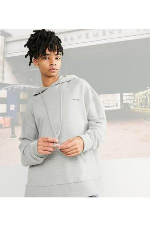 Collusion Oversized hoodie in green marl co-ord