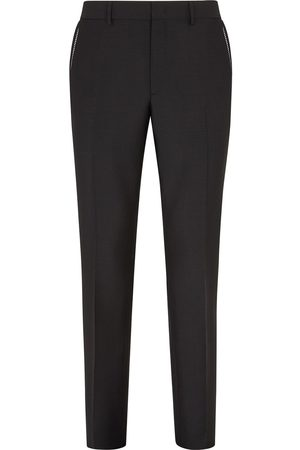 Fendi Men Formal Pants - Tapered tailored trousers