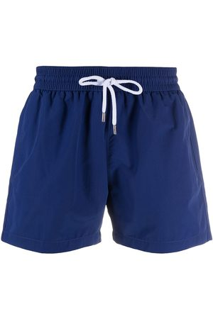 Frescobol Carioca Men Board Shorts - Drawstring swim shorts