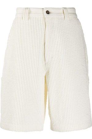Ami Men Bermudas - Multi-pocket corduroy shorts