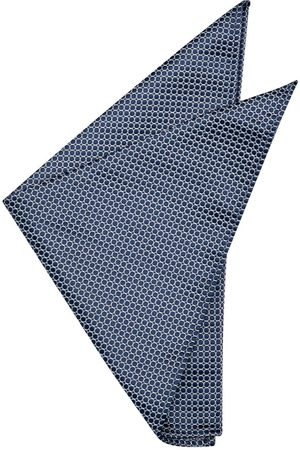 Yd. Anders Pocket Square Navy One