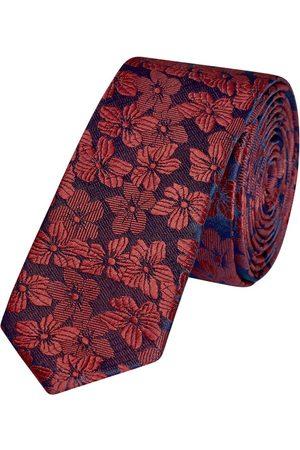 Yd. Makai Floral 5 Cm Tie Burgundy One