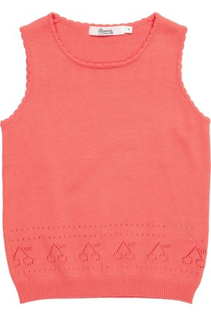 Bonpoint Pointelle cotton tank top