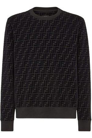 Fendi Men Sweatshirts - Piqué Sweatshirt