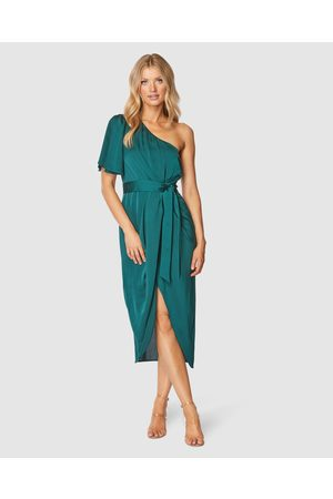 Pilgrim Cam Midi Dress - Bridesmaid Dresses (Emerald) Cam Midi Dress
