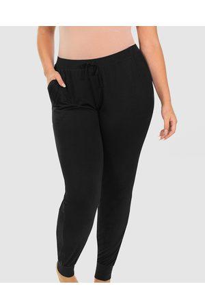 B Free Bamboo Draped Lounge Pants - Sleepwear Bamboo Draped Lounge Pants