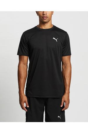 PUMA Run Favourite Short Sleeve Tee - Short Sleeve T-Shirts Run Favourite Short Sleeve Tee