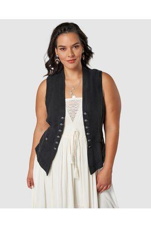 The Poetic Gypsy Hidden Dreamer Waistcoat - Coats & Jackets Hidden Dreamer Waistcoat