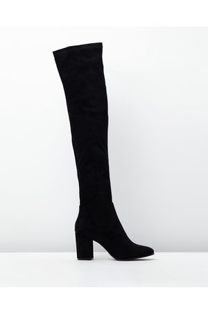 Therapy Hanover Faux Suede Boots - Knee-High Boots ( Imitation Kid Suede) Hanover Faux Suede Boots